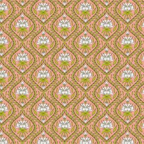 Pineapple Flower Foulard