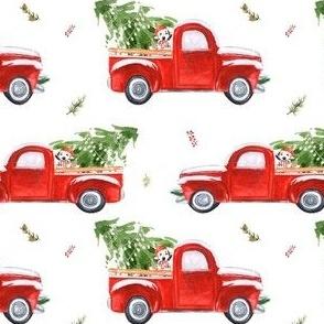 """4"""" Best Friend & Christmas Truck"""