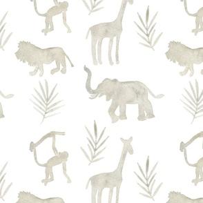 Neutral Jungle Animals
