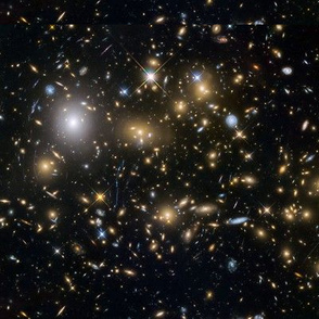 Hubble Deep Image - Blackholes
