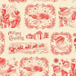 Santas in Red
