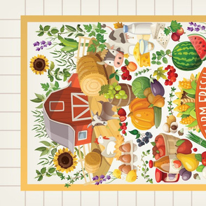 Tea Towel-Farm Challenge