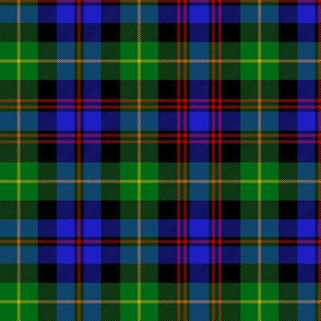 """Black Watch plaid of pipers, 6"""""""