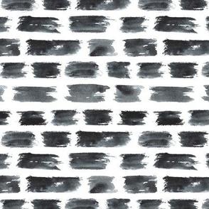 Grey brushstrokes || watercolor