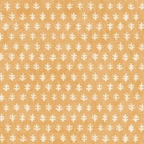 Bali Block Print - Yellow Ochre