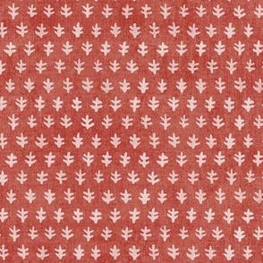 Bali Block Print - Red Sand