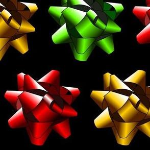 Present Bows Black
