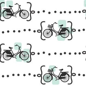 Ride a bike in mint