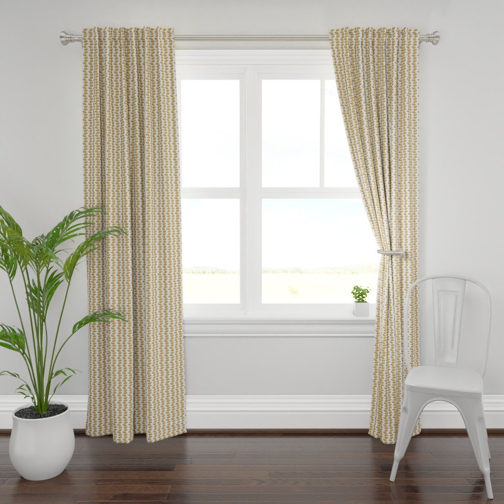 Plymouth Curtain Panel featuring Falling Leaves by sarahjoyh
