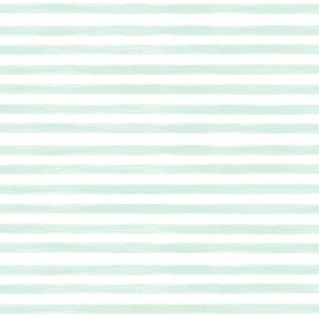 mint gouache stripes // small