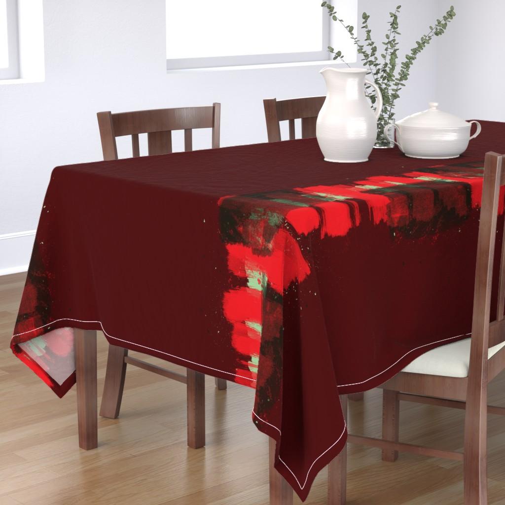 Bantam Rectangular Tablecloth featuring Ribbon by sowilofir