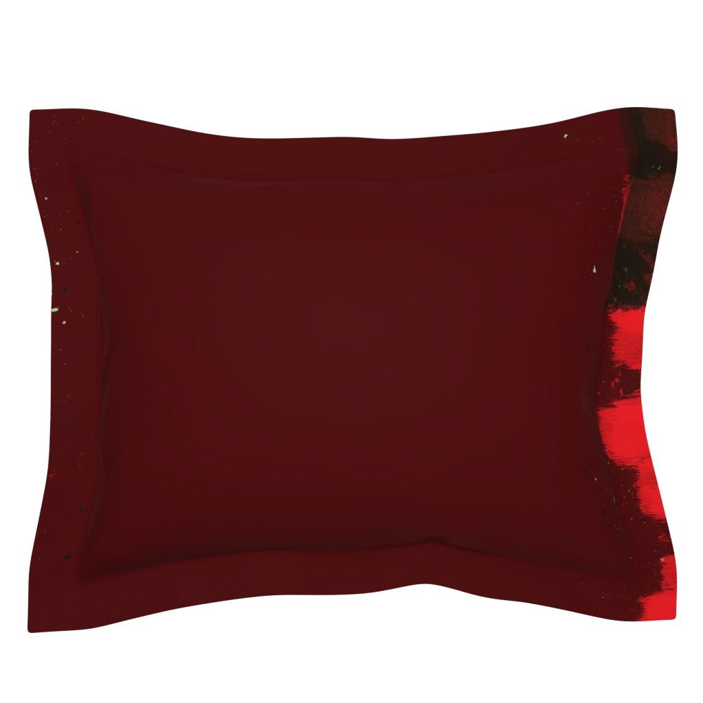 Sebright Pillow Sham featuring Ribbon by sowilofir