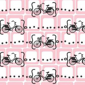 Ride a bike V2 in pink