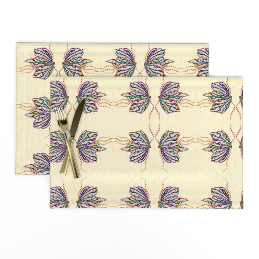 Lamona Cloth Placemats featuring Butterfly Love by angelsgreen