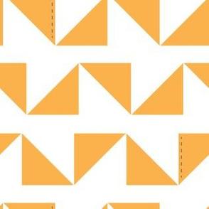 Triangles in orange