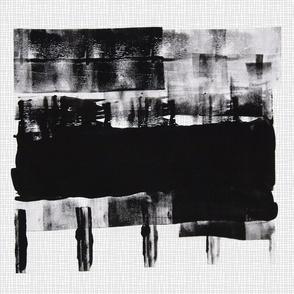 Tea towel Black and White 2