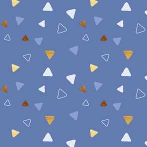 Multi Triangles - Indigo