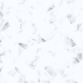 blueish white cubism abstract