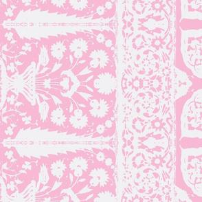 bosporus_tiles rose white silk crepe de chine