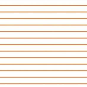sun orange stripes // pantone color of the month august