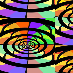 Fragmented circles