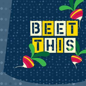 beet this market bag