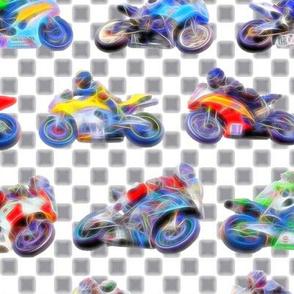 Motorbikes 2 - Checkered