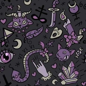 Original Cute Occult in Dark
