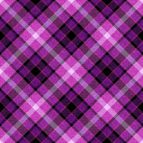 Custom Violet and Magenta Plaid