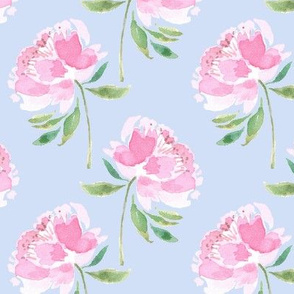 6897767-peonies-on-light-blue-ground-by-tailormadeshop