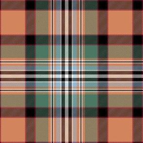 "Dundee tartan #1, 6"" weathered"