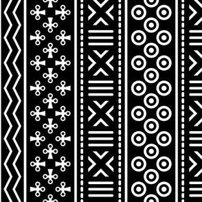 06898994 : mudcloth : black + white