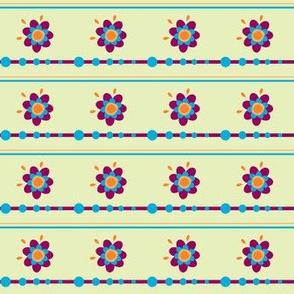 Floradot Stripes - Joyful Garden - © PinkSodaPop 4ComputerHeaven.com