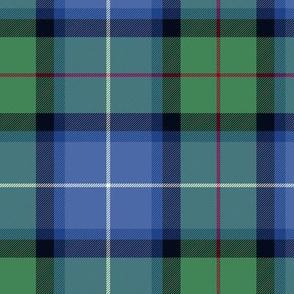 "Tweedside hunting tartan, custom variant #1, 6"""