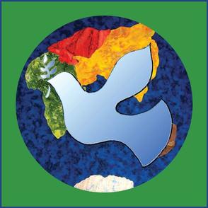 Peaceful Dove Flag
