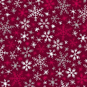 Snowfall (Crimson)
