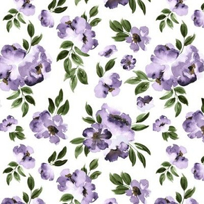 Ultra Violet Flowers Small