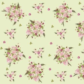 Pink Garden Bouquets