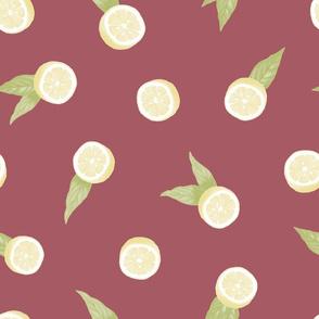 Lemons on Marsala