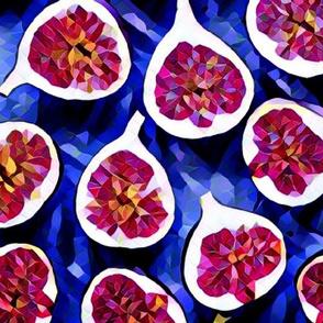 figs on blue