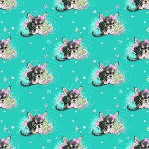 Chichi sweetie turquoise S