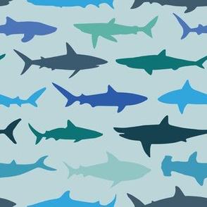 Sharks on Green