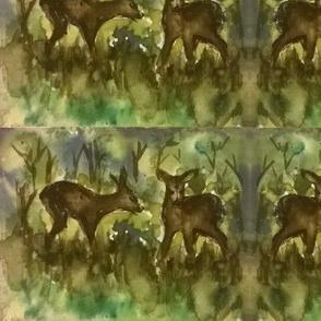 deers_in_the_woods_watercolor