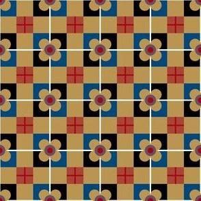 Vintage Flower Tiles