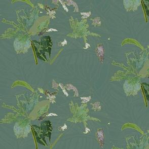 Textured Leaves