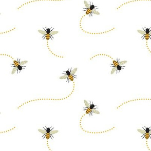 Bee Swarm, Honeybees, Flying Insects, Beehive