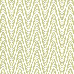 Atomic Wave Zig-Zag - Sage