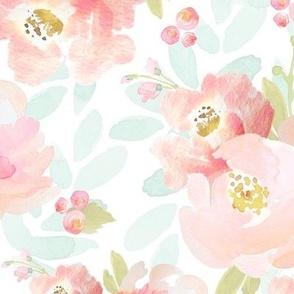 Indy Bloom Design Plush Pink Florals A2
