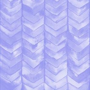 Watercolor Chevron in Lilac // watercolor painted chevron baby lavender purple lilac mermaid scale fabric