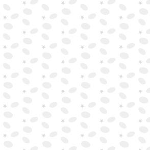 Sprinkle Dot Stars 233- gray